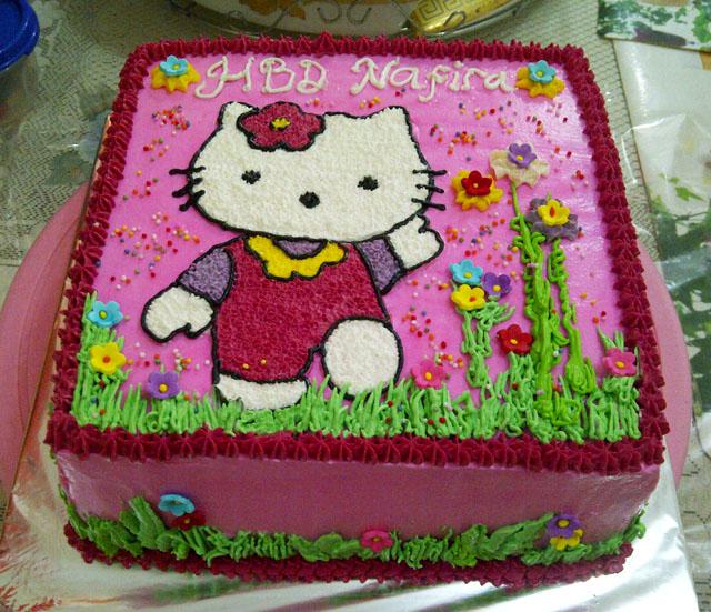 Kue Ulang Tahun Hello Kitty | Fina Cake's Pontianak
