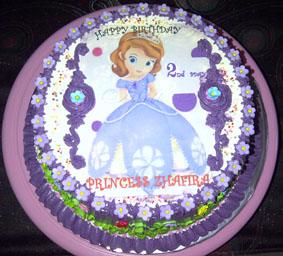 Birthday Cake Sofia The First Fina Cake S Pontianak