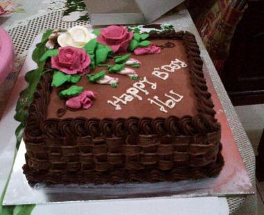 Kue Ulang Tahun Coklat Fina Cakes Pontianak